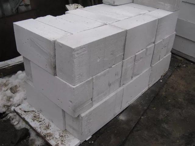 сколько стоит 1 куб блоков