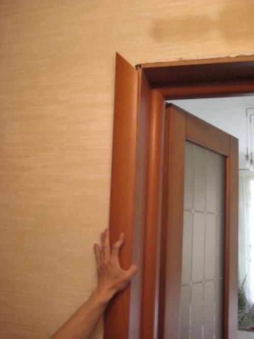 Обналичка двери своими руками