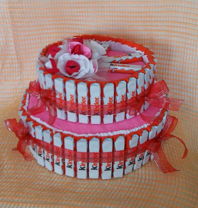 Сладкие подарки из конфет и шоколада 43