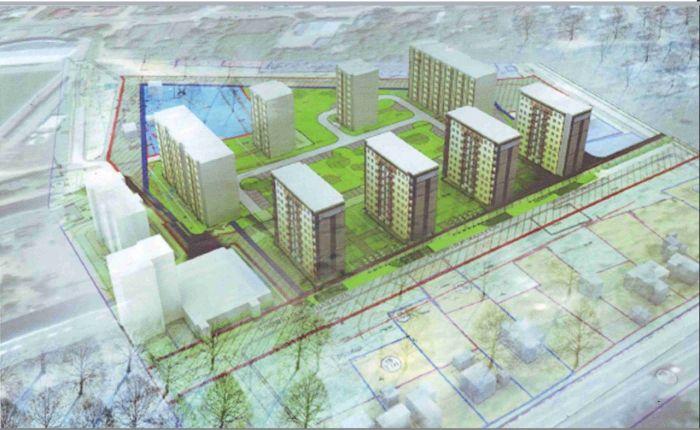 Земля под строительство многоэтажных домов